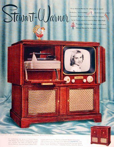 1951 Stewart Warner TV #003675