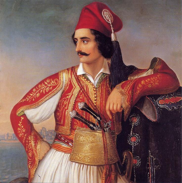 ΘΕΟΔΩΡΟΣ ΒΡΥΖΑΚΗΣ, Theodoros Vrizakis, 1819- 1878  Προσωπογραφία Αναγνωστόπουλου  (περίοδος 1850 – 1860)  Πηγή φωτό: Εθνική Πινακοθήκη  Όταν οι αγώνες γίνονται Τέχνη, είτε με τον χρωστήρα  των Ζωγράφων ή τους στοίχους των  Ποιητών μόνο τότε  οι ήρωες νιώθουν  δικαιωμένοι.  Costoulis