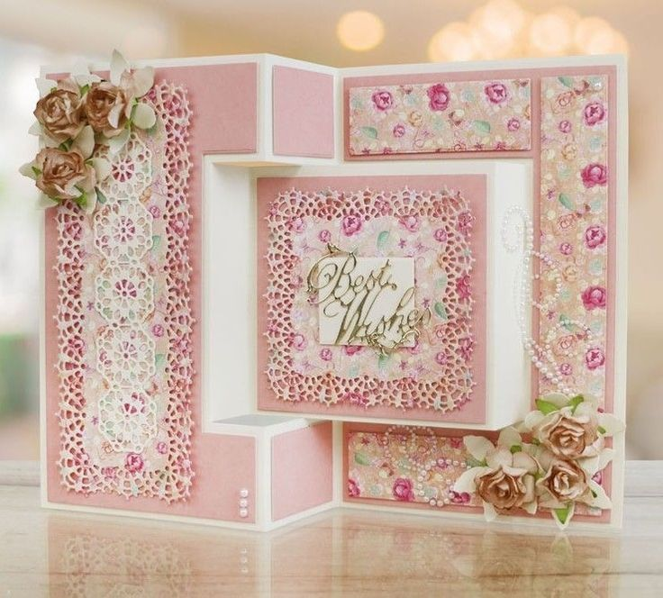 2817 best Beautiful cards to make images on Pinterest Homemade - tri fold card