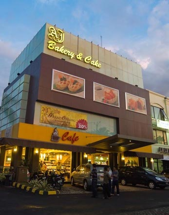 AJ Bakery & Cake, BSD, Tangerang, Indonesia