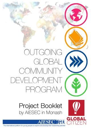 oGCDP Project Booklet by AIESEC in Monash  Made by Matthew Kuo, Lachlan Lim, Abby Whitfield, Maddy Merritt & Melissa Chuong - AIESEC in Monash
