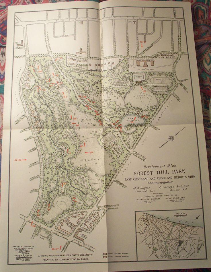 Forest Hill Park, 1938, John D Rockefeller Jr Land Development in East Cleveland       Edition limited to 500