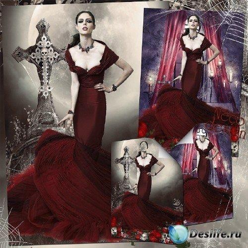 Готический костюм и орнамент