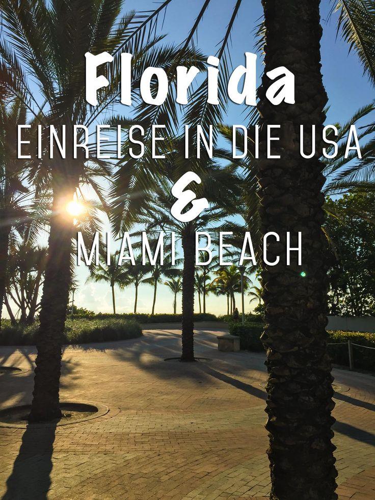Florida mit Kind und Kegel: Die 10 Tage Rundreise waren unser Familienurlaub und Highlight des Jahres - voll gepackt mit intensiven Eindrücken und voller unvergesslicher Erlebnisse.  In diesem Beitrag gibt es alles zum ersten Baustein unserer Reise und allgemeine Tipps zur Einreise in die USA.  http://mrsberry.de/florida-einreise-usa-miami-beach/