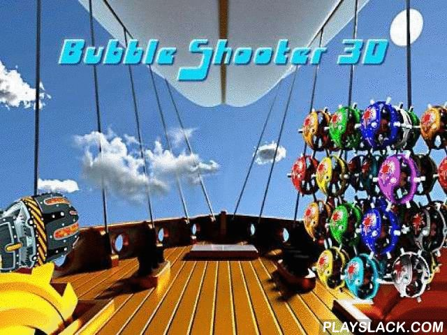 Bubble Shooter 3D  Android Game - playslack.com , Shoot globules from your weapon at a 3d illustration made up of an agglomeration of globules. equal factions of 3 and more globules. The aim of this Android game is to clear the screen from the globules as soon as accomplishable. To do this you need to shoot colourful globules to form a team of as many same globules as accomplishable. Those globules distribution and you gain scores. Successfully finish work and demolish globules in distinct…