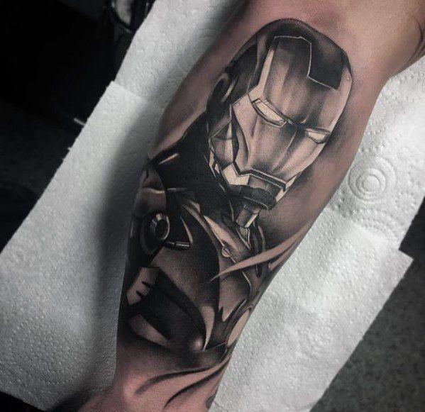 70 Iron Man Tattoo Designs For Men