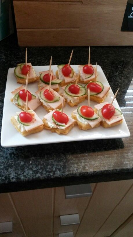 Made these savory bites for a party this weekend...(my own pic)