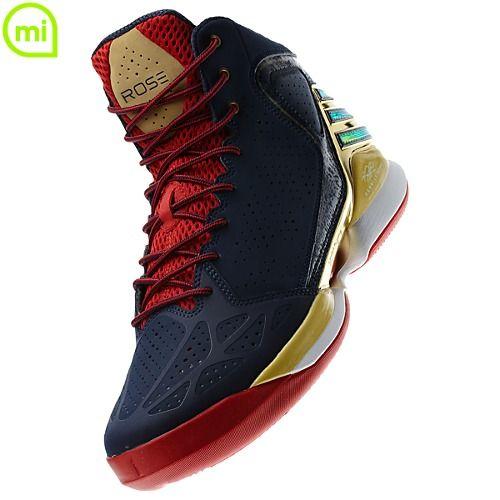 Adidas unveils the adiZero Rose 773 \u0027Gold Medal Game\u0027 shoes of Derrick Rose