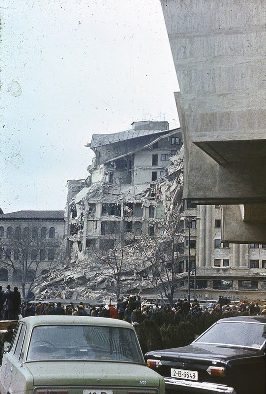 Old Photos of the Bucharest Earthquake in 1977 (13)