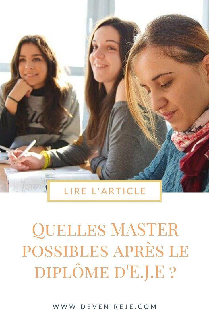 Continuer En Master Apres Le Deeje Educatrice De Jeunes Enfants Lettre De Motivation Formation Continue