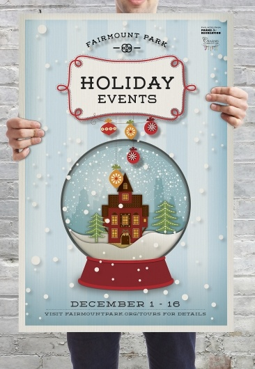 christmas poster #poster #design #holiday