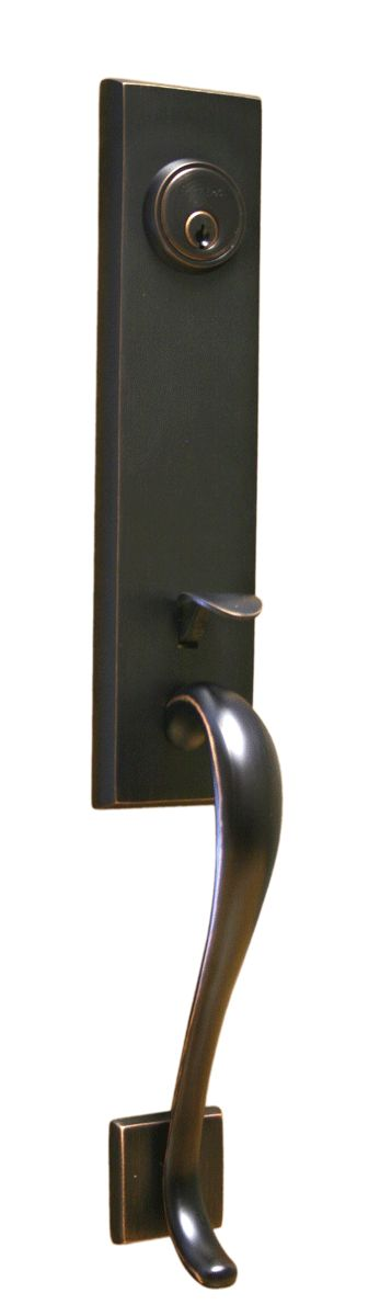 Sure Loc Door Hardware   Solitude Entrance Handleset