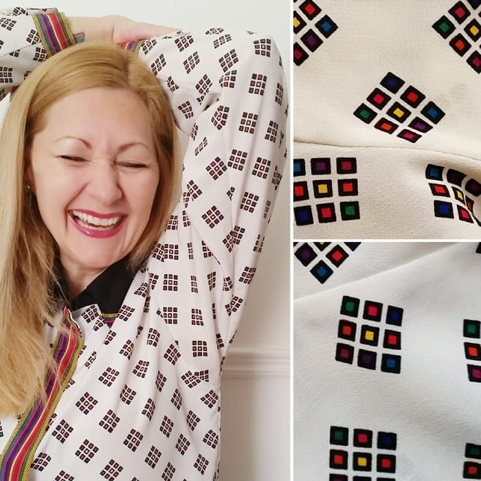 Pop to the blog & discover how to remove yellow underarm stains from shirts with a couple of items from your kitchen & keep those groovy #vintage blouses in your wardrobe!