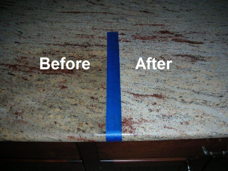 Best Granite Sealer Advanced Stain Protection - This spray uses a powerful blend of polymers to penetrate the naturally porous surface of the stone to prevent stains from entering and becoming permanent. By doing this, TriNova Granite Sealer also provides a protective layer on top of granite to prevent water stains and prevent residue from sticking.