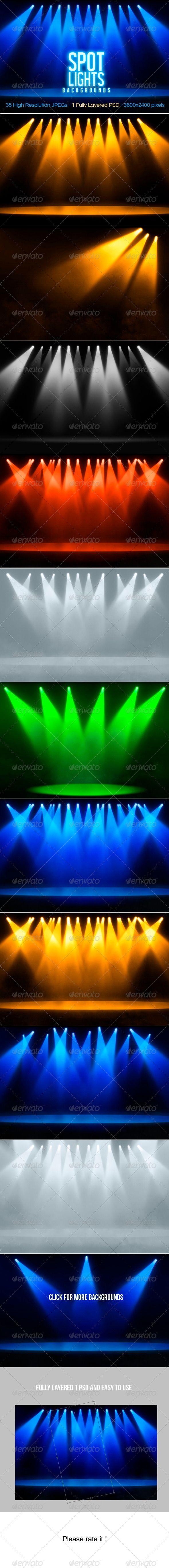 Spotlights Backgrounds