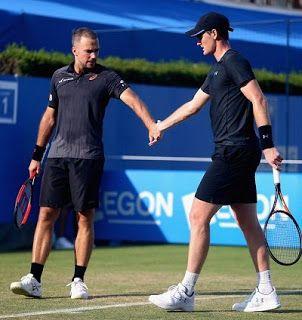 Blog Esportivo do Suíço:  Soares e Murray vencem dois jogos e são campeões em Queen's