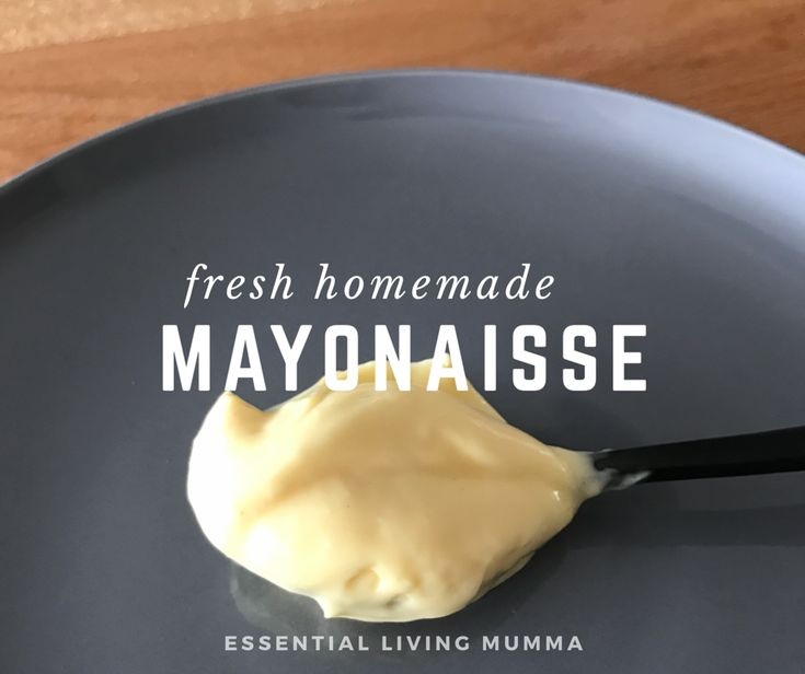 LCHF homemade Mayonaisse - Thermomix