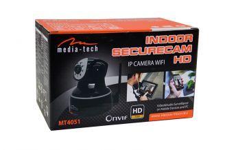Media-Tech Kamera HD obrotowa z wifi, IP.