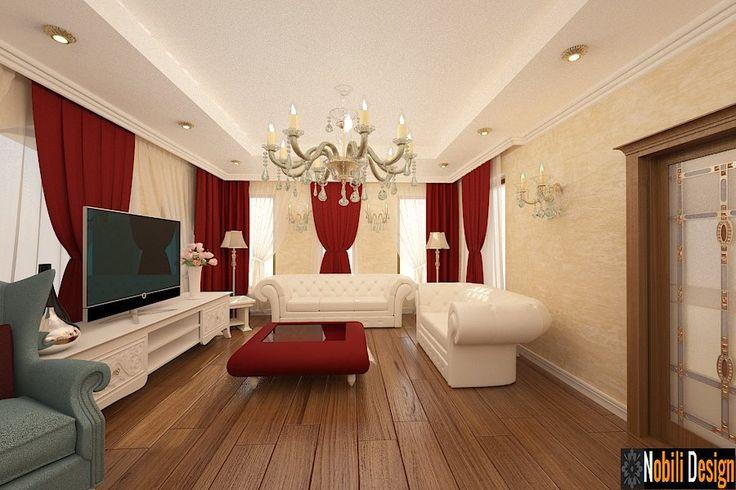 Design interior casa stil clasic de lux