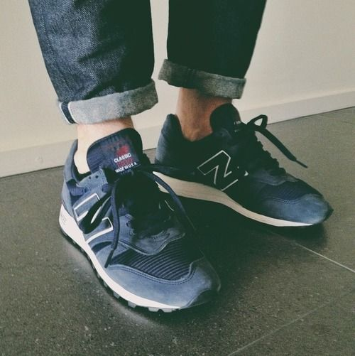 Hipster Rob would wear New Balance. Because Hipster Rob wears what he wants. His feet, his shoes.