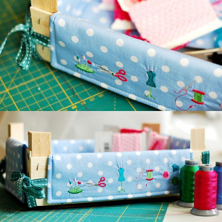 Idea per a decorar les caixes de maduixes