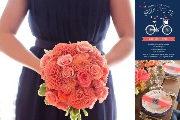 coral and navy blue wedding reception ideas   Wedding-Philippines-Weddings-by-Color-Navy-Blue-Coral-Wedding-Ideas-01 ...