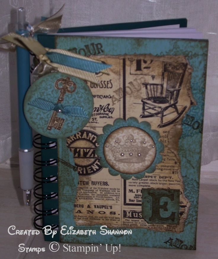 elizabeth's craft room: Altered and Distressed!