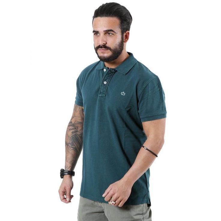 EMERSON Ανδρική κοντομάνικη πόλο μπλούζα PSR1771FOR