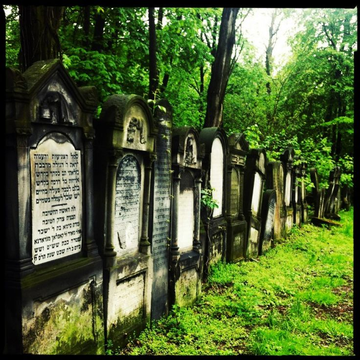 View of Matzevahs in Jewish Cemetary in Warsaw, Photo: Paul Bargetto