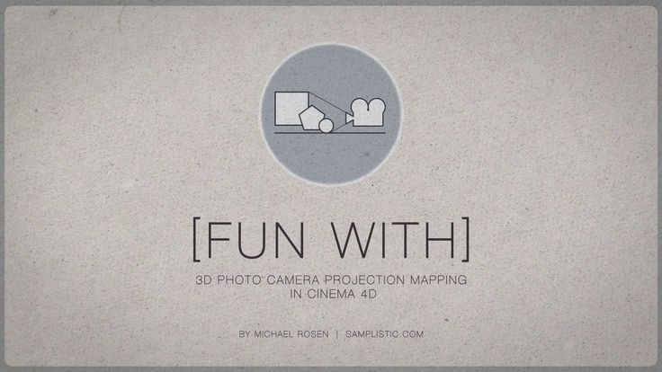 [fun with] 3D photo camera projection mapping on Vimeo