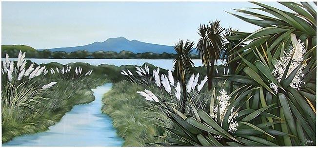 kirsty nixon, beautiful nz landscape art