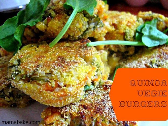 Quinoa-Vege-Burgers
