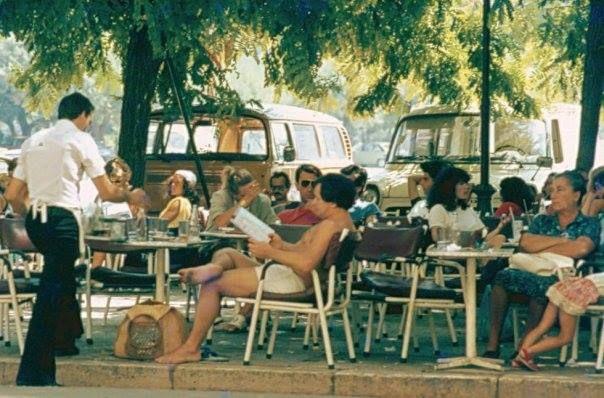 The Liston, Corfu Island, GREECE