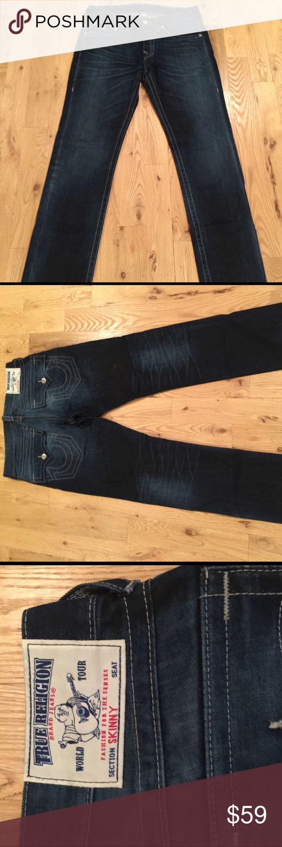 True Religion Men's Jeans True Religion Men's Jeans | SKINNY size 33.       •items fit true to size True Religion Jeans Skinny