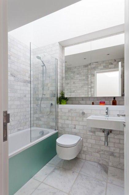 Maison d 39 architecte londres salle de bains pinterest for Architecte salle de bain