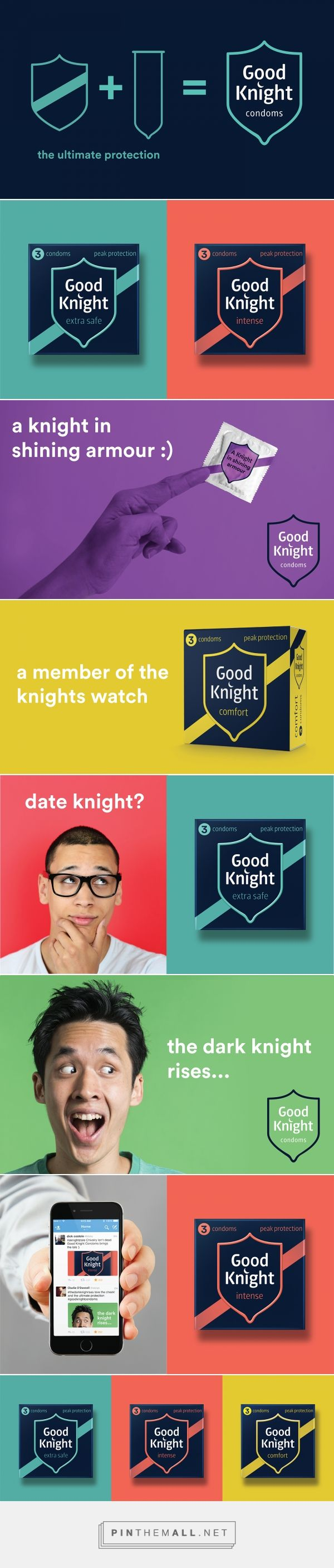 Good knight condoms packaging design by our revolution http www packagingoftheworld