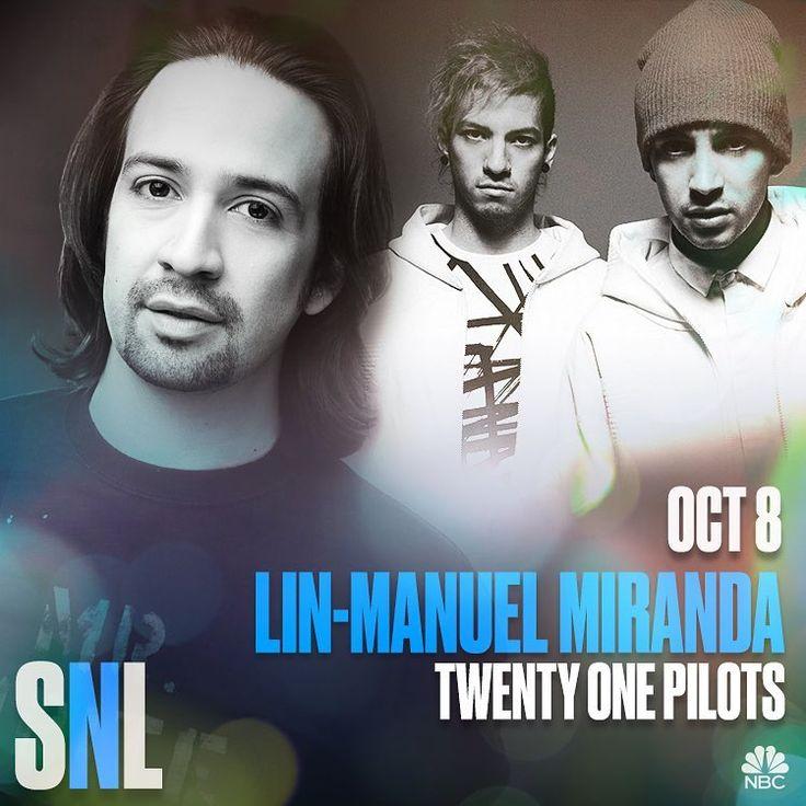 Twenty One Pilots on Saturday Night Live!!!!