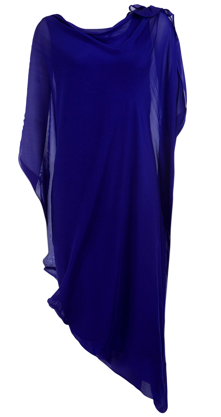 Go glam with Gaurav Gupta! This gorgeous purple draped dress is chic and sophisticated without being overwhelming. The silhouette offers some flattering fun while the color adds the perfect pop for a night out on the town.   Available now at www.perniaspopupshop.com