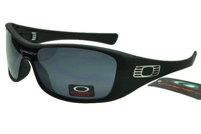 Oakley Antix Sunglasses Black Frame Darkgrey Lens Oakley sunglasses are the  epitome of cool. This classic frame has seen a powerful resurgence via geek  chic ...