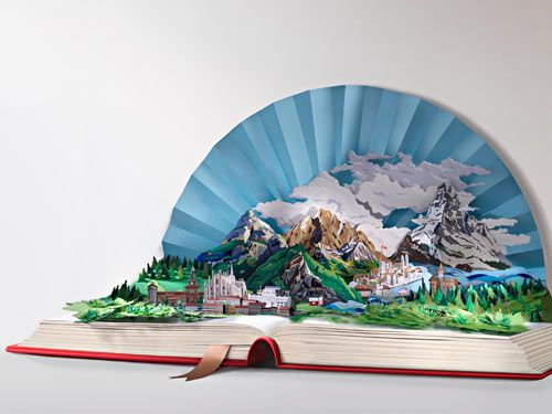 This fantastic and detailed sculpture by Alberto Parise and Giovanni Pasini is made entirely out of paper  Read more at Design Milk: http://design-milk.com/italian-design-is-coming-home/#ixzz1EKRz96k2