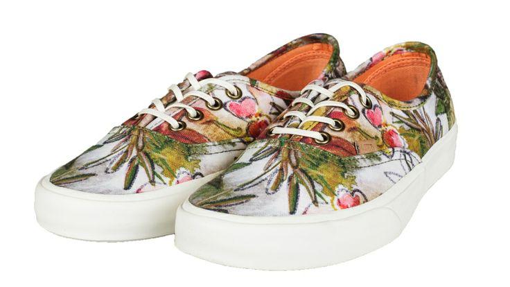 Vans Authentic CA Camo Floral VJWIAS7 SneakerBarber