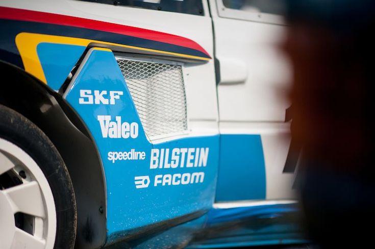 Peugeot 205 T 16 Evo 2, ex -Tour de Corse 1986