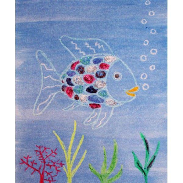 17 best images about arc en ciel poisson on pinterest - Poisson en maternelle ...