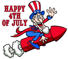 4th+of+July+Cartoon+Clip+Art | Happy 4th Of July
