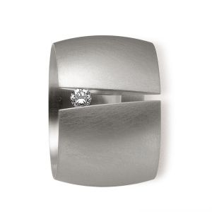 Stainless Steel Tension Rings by Niessing (€1030,-)
