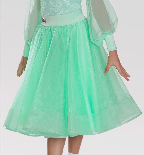 DSI Zeta Juvenile Ballroom Dance Skirt 1083J| Dancesport Fashion @ DanceShopper.com
