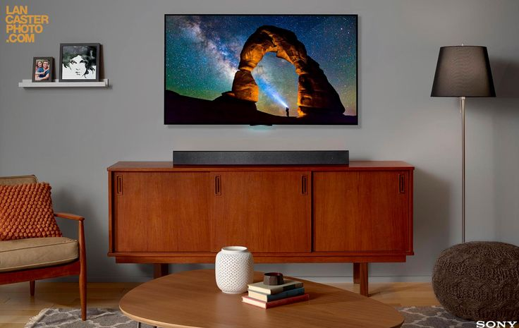 Sony sound bar. Sony TV. Livingroom. San Diego, CA photographer ©Jeff Lancaster www.lancasterphoto.com