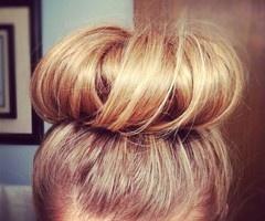 .: Hair Ideas, Hairstyles, Hair Styles, Makeup, Socks, Sockbuns, Beauty, Big Bun, Sock Buns