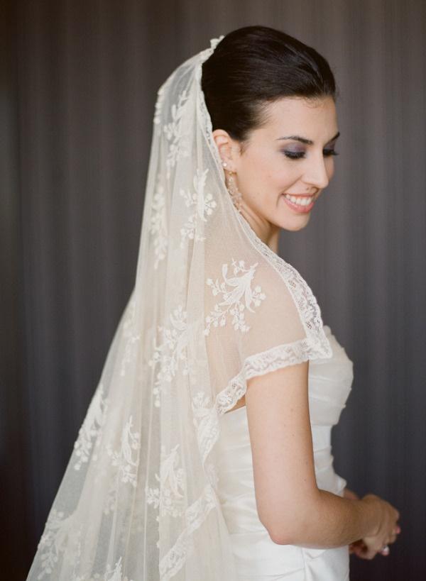 vintage veil worn by generations past