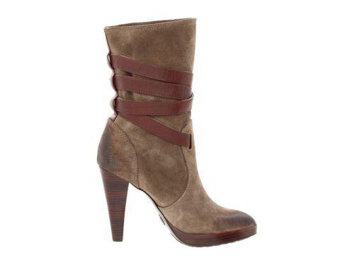 FRYE Harlow Multi Strap Ankle Heel Boot